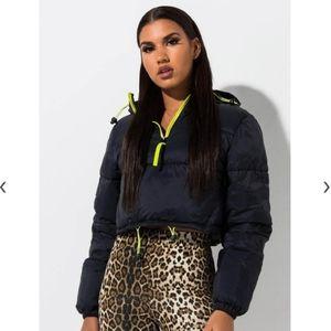 Fila Naomi Puffer Pullover Jacket. Sz. XS